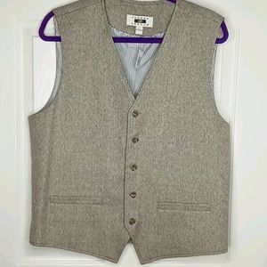 Joseph Abboud Brown Vest - Large